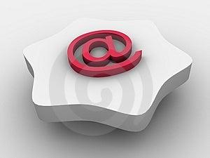 E-mail Symbol Royalty Free Stock Image - Image: 3027666