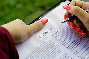 Signing Contract Royalty Free Stock Photos - Image: 3027678
