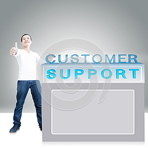 Customer Support Royalty Free Stock Photography - Image: 30234927