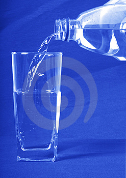 Water Poured In A Glass Stock Photography - Image: 3031402