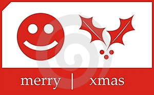 Merry Christmas Card Royalty Free Stock Images - Image: 3032529