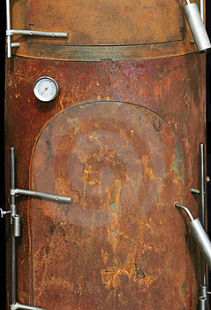 Modern Oven In Rusty Style Stock Photo - Image: 3032600