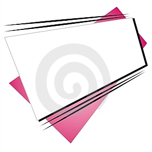 Retro Shapes Web Site Logo 2 Royalty Free Stock Photo