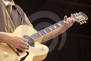 Musician Stock Image - Image: 3036401