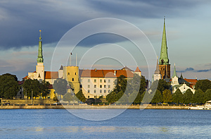 President Palace In Old City Of Riga, Latvia, Europe Royalty Free Stock Photos - Image: 30368008