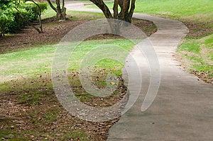 Garden Path Stock Image - Image: 30399331