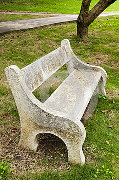Stone  Chair Royalty Free Stock Images - Image: 30399339