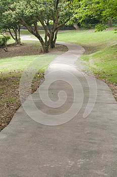 Garden Path Royalty Free Stock Images - Image: 30399369