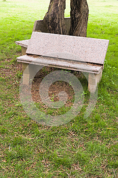 Stone  Chair Stock Photos - Image: 30399543