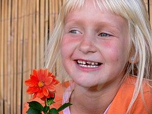 A Menina Sem Dente. Imagens de Stock - Imagem: 3041424