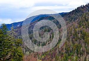 Rauchige Berge Lizenzfreie Stockfotografie - Bild: 30494907