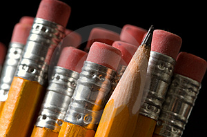 Yellow Pencils Royalty Free Stock Photo - Image: 3057045