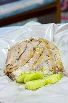 Hainanese-Hühnerreis Lizenzfreie Stockfotografie - Bild: 30502527