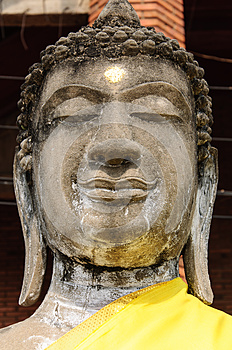 Sandstenbuddha Bild Royaltyfria Bilder - Bild: 30516479