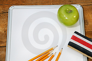 Small memo board for school Stock Photography