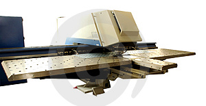 Punching Machine Royalty Free Stock Photography - Image: 3068517