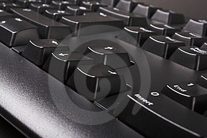 Clavier Noir Photos stock - Image: 3072283