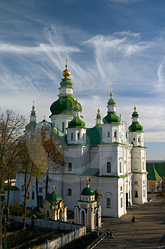 Orthodoxy Cathedral Royalty Free Stock Images - Image: 3078519