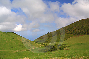 Landscape In Azores, Portugal Royalty Free Stock Photography - Image: 3079727