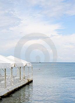 Coastal Cafe Stock Photo - Image: 3083980