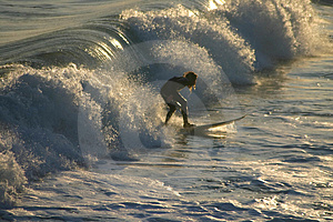 Surfer 2 Stock Photos - Image: 3089803