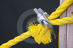Lashing Stock Photo - Image: 3093110