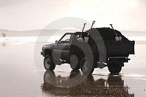 Beach Jeep stock image. Image of road, remote, auto, desolate - 317909