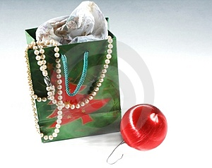 Ornament And Bag Royalty Free Stock Images - Image: 318299