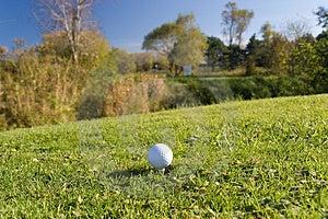 Golfboll 04 Arkivbild - Bild: 318522