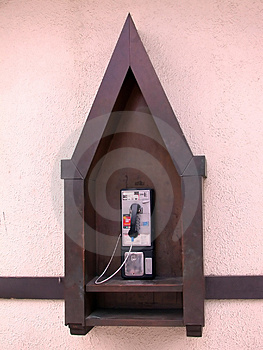 Public Phone Stock Photo - Image: 318710