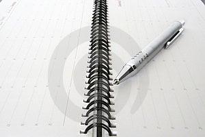 Agenda Stock Image - Image: 3102941
