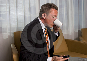 Serious Business Man Stock Photography - Image: 3105972