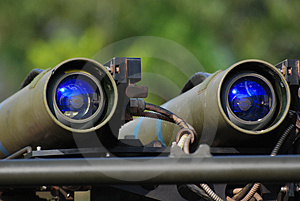 Missile Mounted On The Vehicle Royalty Free Stock Photos - Image: 3107728