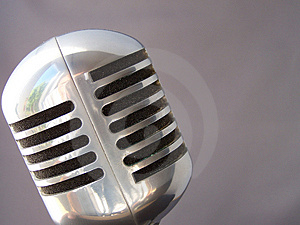 Fifties Mic Royalty Free Stock Photo - Image: 3116195