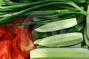 Allsorts from vegetables Stock Photography