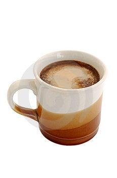 Coffee With Milk Scream Stock Photography - Image: 3122572