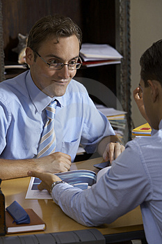 Business Man Portrait Stock Image - Image: 3131881