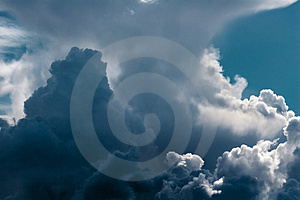 Cumulus Royalty Free Stock Image