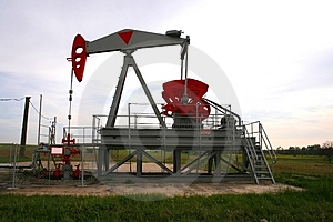 Oil well Stock Photography