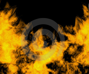 Close-up Of Fire And Flames Royalty Free Stock Images - Image: 3133179