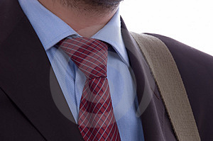 Detail of a business man