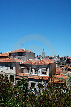 Panorama View From Oporto City Royalty Free Stock Photography - Image: 3142677