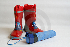 Red Wellington Boots Royalty Free Stock Photo - Image: 3174235
