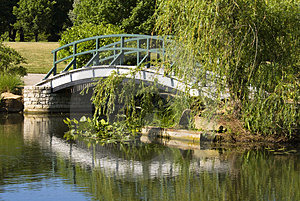 Footbridge Royalty Free Stock Photography - Image: 3174247