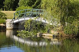 Footbridge Royalty Free Stock Photography - Image: 3174247