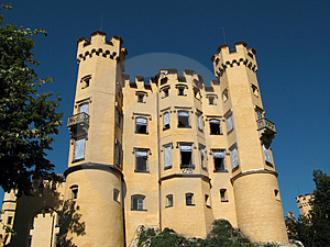 Castle Hohenschwangau, Germany Stock Image - Image: 3176221