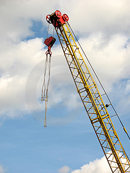 Lifting Crane Royalty Free Stock Photography - Image: 3176837