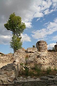 Roman Ruins Royalty Free Stock Photography - Image: 3179947