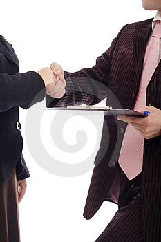 Handshake s Royalty Free Stock Photos