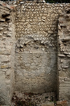 Antique Roman Wall Royalty Free Stock Photography - Image: 3185807